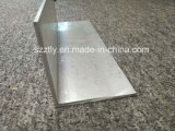 Perfiles en forma de L revestidos del aluminio del ángulo de /Anodised/Powder del final del molino del precio de fábrica