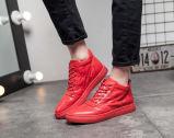 Красный цвет и задние ботинки людей цвета (YN-10)