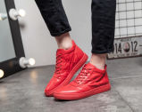 Rot und rückseitige Farben-Mann-Schuhe (YN-10)