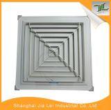 Aluminium 4 de Verspreider van de Manier, de Vierkante Verspreider van het Plafond voor Airconditioning