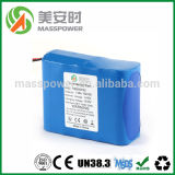 батарея иона лития 12V 20ah с 18650 перезаряжаемые батареями