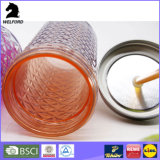 Große Kapazität der Trommel-16oz, Acrylplastiktrommel, Stroh-doppel-wandige Trommel