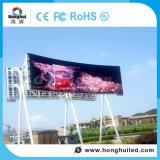 Im Freien P10 farbenreicher LED Bildschirm für das Bekanntmachen der Bildschirmanzeige