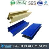 Perfil de aluminio del aluminio 6063 de la puerta de la ventana con color modificado para requisitos particulares de la talla