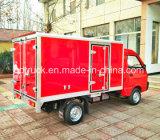 SINOHTCの小型電気トラック、電気配達用トラック