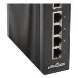 Commutateur réseau industriel de 5 Ethernets rapides gauches de million de bits