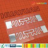 Escritura de la etiqueta de seguimiento logística de la frecuencia ultraelevada del extranjero 9662 H3 RFID