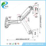 Prix usine de Jeo 15 '' - 27 '' pouces 360 degrés tournant la canalisation verticale réglable de moniteur de bride de bureau de la hauteur chaude Ys-Ga12W de vente