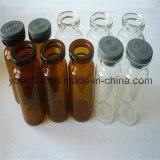 bouteille en verre de la fiole 10ml, bouteille en verre Pharmachemical