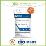 Silice Dioxid/noir de charbon blanc/Microsilica pour la colle concrète