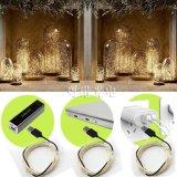 유연한 크리스마스 훈장 USB LED 구리 철사 끈 빛