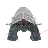 Ткань 100% Flyknit полиэфира и верхушка ботинок Flyknit