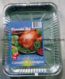 Placa sin aceite del papel de aluminio para el pollo de asación