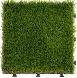 DIY Design Artificial Grass Interlocking Floor Garden Tile