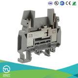 Блок испытания 2.5mm промышленного распределения рельса DIN электрический