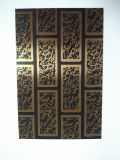 Kupferne überzogene Innenwand-Edelstahl-Blatt-Platte mit Baumaterial