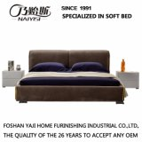 方法ダブル・ベッドデザイン現代寝室の家具ファブリックベッド(G7002A)