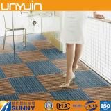 Azulejos de suelo comerciales del vinilo de la alfombra del resbalón anti de interior