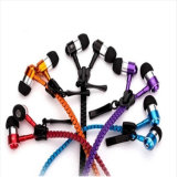 Связанный проволокой наушник застежки -молнии Earbuds