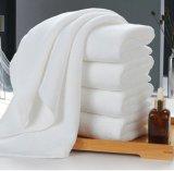 Toalhas de banho de algodão Cor branca Macio ao lado da mão Hoteltowels