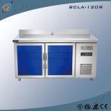 ステンレス鋼のガラスドア商業冷却装置フリーザー冷却装置