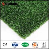 Grama falsa verde decorativa de alta qualidade para artesanato Trigo