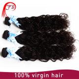 Unverarbeitete brasilianische Jungfrau-natürliche Wellen-Haar-Extension