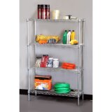 Multi-Functional DIY Metal Storage Wire Racking / Garage Wire Shelving