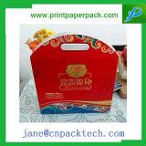 Изготовленный на заказ причудливый бумажная коробка Mooncake коробки подарка упаковывая