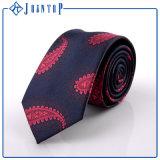 Qualité faite sur commande de cravate de Paisley Microfibre