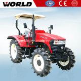 alimentador de granja de 90HP 4WD para el uso de la agricultura