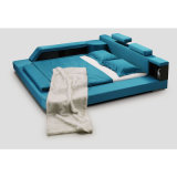 Base blu del tessuto di colore per uso della camera da letto (FB8001)