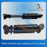 De enige Hydraulische Cilinder van de Leiding van het Acteren Hydraulische voor Tractor