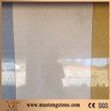 번쩍이는 회색 유리제 석영 색깔 인공적인 석영 돌 지면