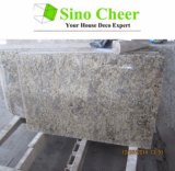 Kitchen new Venetian gold Slab Prefab of granites Countertop Colors