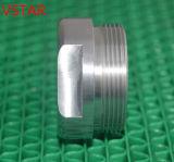 Часть CNC подвергая механической обработке алюминия используемая для машинного оборудования в высоком качестве