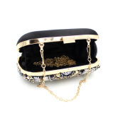 Abend-Beutel handgemachte der Handtaschen-Form-Luxuxdame-Designer Glittering Crystal Beaded