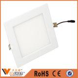 Квадратные света панели потолка ванной комнаты потолочного освещения СИД