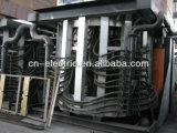 Forno industriale di fusione di induzione dell'acciaio di getto