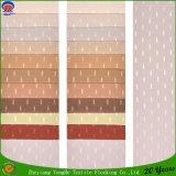 Tela impermeable tejida materia textil casera de la cortina del apagón del poliester del franco