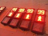 Alto semáforo peatonal del brillo que contellea 300m m LED para la seguridad del camino