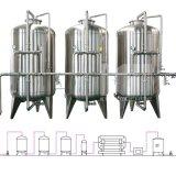 Chaîne de production remplissante de l'eau de bouteille d'animal familier de constructeur d'usine en état neuf