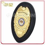 La polizia placcata oro Badges i distintivi dell'esercito con l'alta qualità