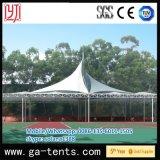 Tienda de la cortina del baloncesto de la escuela de Huadu con la cubierta de PVDF y la estructura de acero