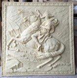 De Tegels van Relievo van de Bouwmaterialen van het Beeldhouwwerk van het zandsteen Voor de Decoratie van het Huis
