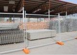 Panneau provisoire de frontière de sécurité pour la construction