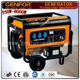Hete Verkoop 100% Alternator van de Generator van de Benzine van de Macht van de Draad 3.0/4.0/5.0/6.0/7.0/8.0kw van het Koper de Draagbare Industriële