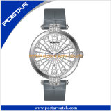 Montre-bracelet de luxe suisse de dames de diamant de Ronda Movt
