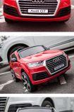 Coche con pilas rojo LC-Car-071 del coche del juguete/del juguete de los cabritos