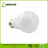 세륨 RoHS A60 E27 B22 3W-15W 85-260V 플라스틱 LED 전구